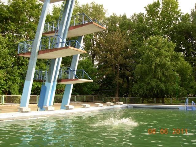 Ronjenje na bazenu u Crvenki