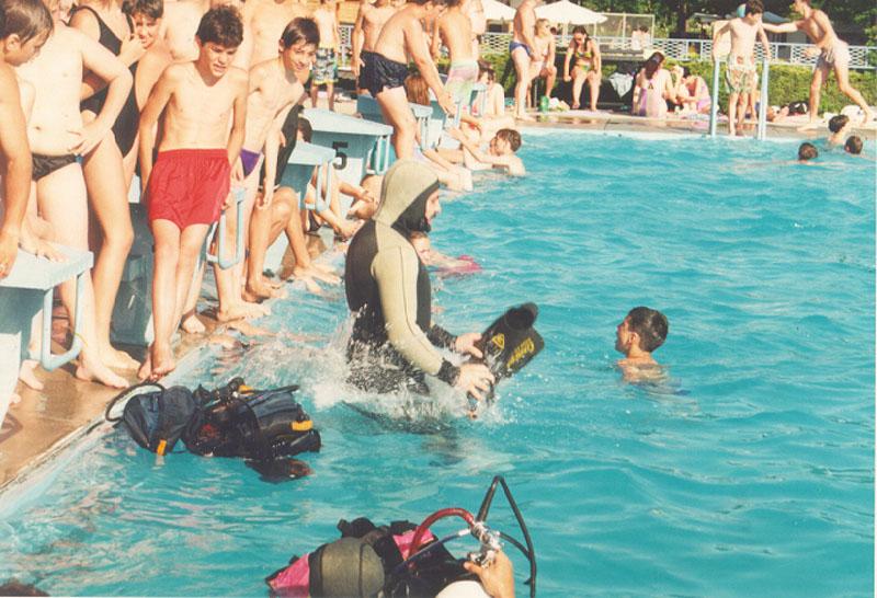 Obuka na bazenu 1997 (10)