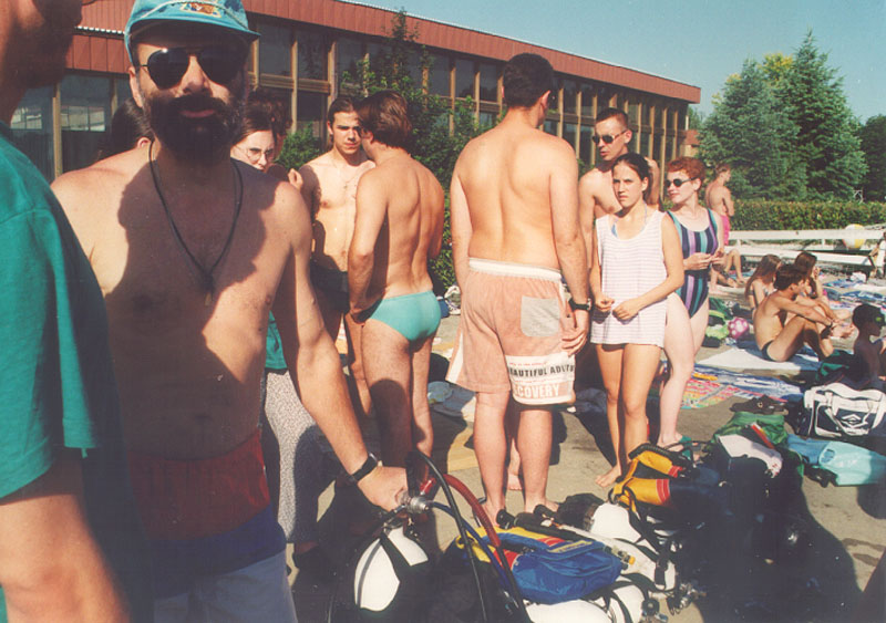 Obuka na bazenu 1997 (11)