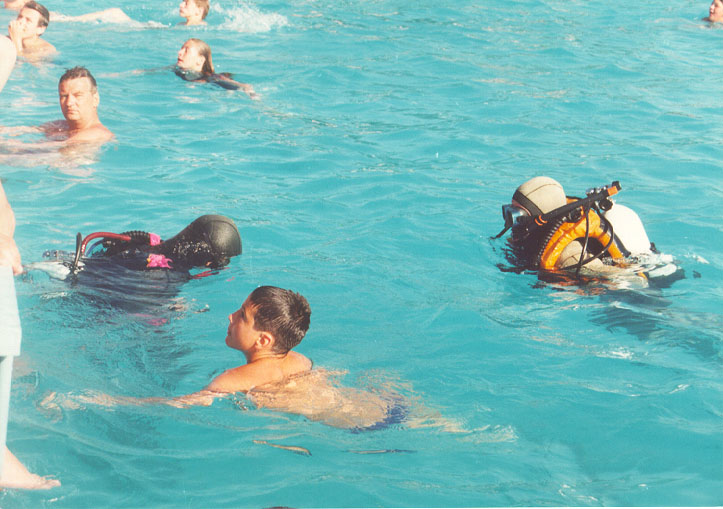 Obuka na bazenu 1997 (2)