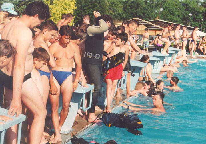 Obuka na bazenu 1997.