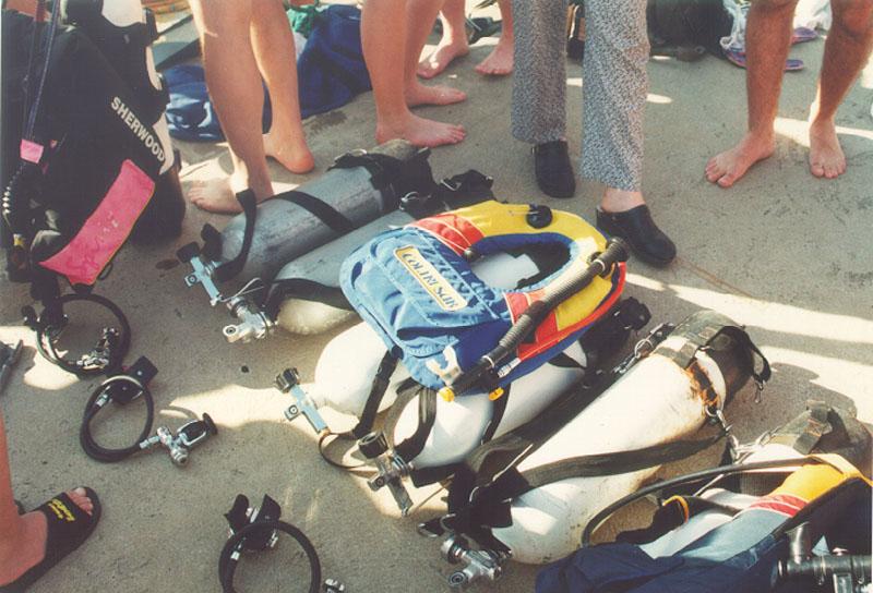 Obuka na bazenu 1997 (5)
