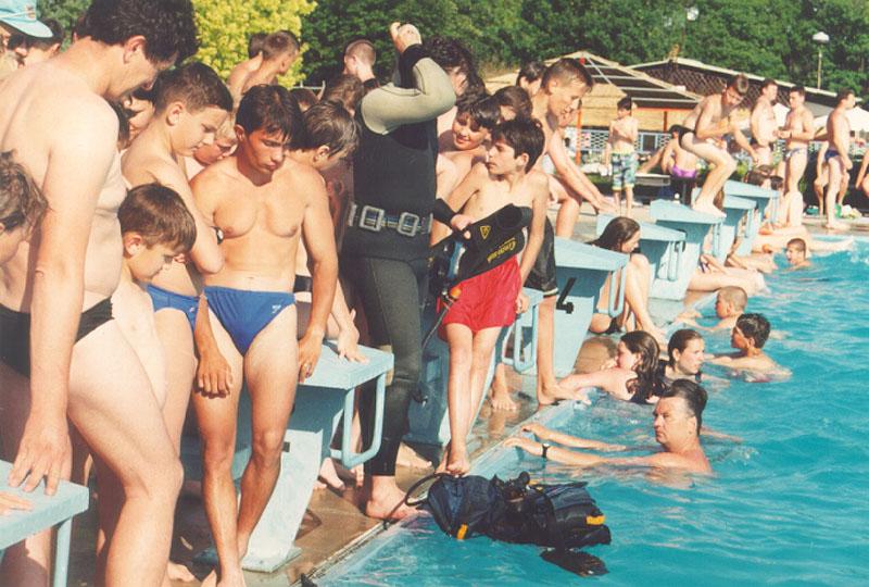 Obuka na bazenu 1997 (9)