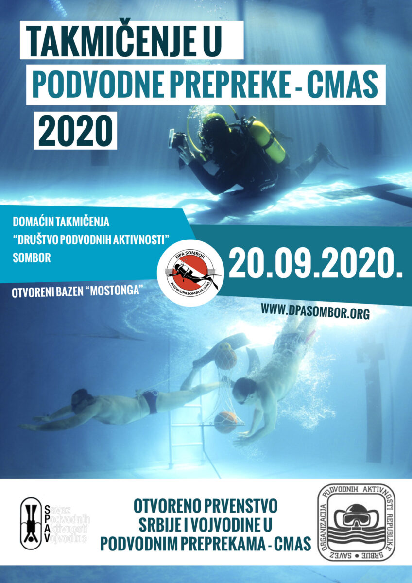 Podvodne prepreke plakat 2020